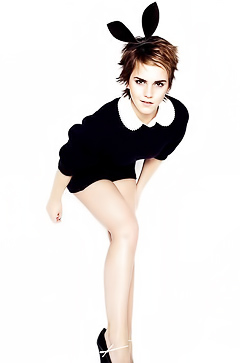 Emma Watson posing for you!