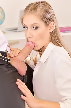 Tiffany Tatum Naughty Schoolgirl's Sex Lesson