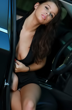Destiny Moody Teases In Car